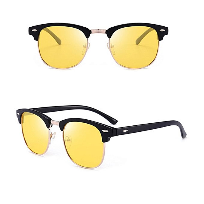 Great Classic Unisex Polarized Sunglasses Men Women Vintage Outdoor Square Mirror Sun Glasses UV400 Rays Drive