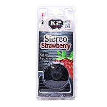 Car Air Frshn Stereo Strawberry