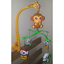 Baby cot/crib mobile with music