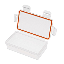Waterproof Battery Holder Battery Storage Box Protective Case Double Slots 18650 Battery Transparent Strong Hard Case