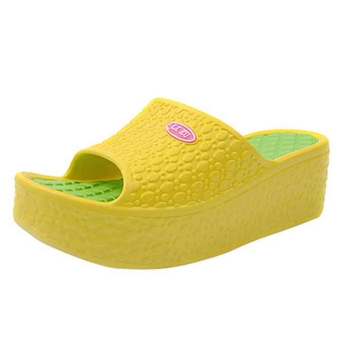 29e78b9c6f ALEX most popular best rating lowest price Thick Soles Fashion Women Summer  Sandals Platform Shoes Beach Hole Shoes