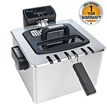 RM/370 - Deep Fryer 4.5Lt - Silver