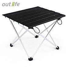 Lightweight Aluminum Alloy Mini Folding Table_BLACK