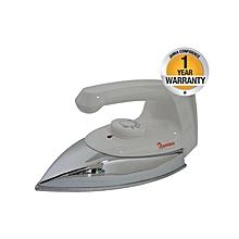 RE/104 - Dry Iron - 1000W - White & Siver