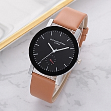 shioakp Lvpai Casual Quartz Leather Band Watch Analog Wrist Watch