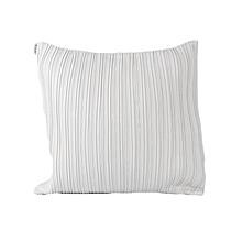Striped Decorative Pillow - Medium - White