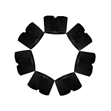 Men's Breathable Underwear Pack of 7 Boxer Micro Modal Black