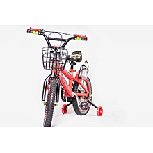 "16"" Bicycle Kids Bike 4-8Years - Red"