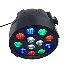 12*1W LED Flat Plastic Stage Light Four Control Models For Party Bar KTV