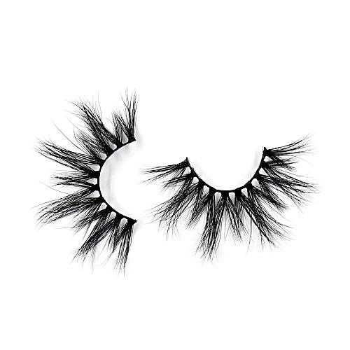 7d6f6086da2 Generic Eyelashes 3D Mink False EyeLuxury Large Criss-cross False Eyelashes  25mm Hand Made Fluffy Dramatic Lashes Makeup(G03)