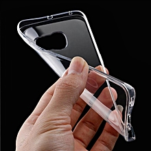 Case 0.3mm Clear Rubber Soft TPU Cover Case For Samsung Galaxy S7 Edge- Transparent