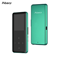 Aibecy M49+ BT MP4 Music Player with Lightweight Aluminum Case Built-in Speaker FM Radio Recording E-book Video Picture Browse Function for Students Music Enthusiasts