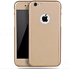 Full Protective Case for iPhone 5/5s/5G - Gold