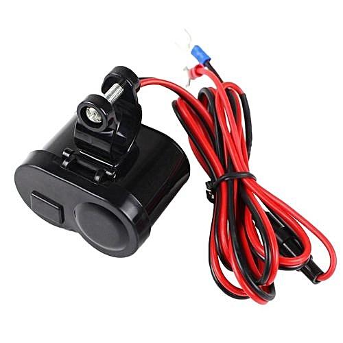 Terrific Generic Or Usb Wateroroof Motorcycle Car Cigarette Lighter Power Wiring Database Heeveyuccorg