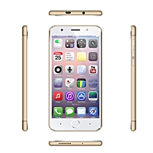 5.5 inch Screen MTK6580 Quad-Core Android 5.1 WCDMA/GSM WIFI Smartphone - Gold