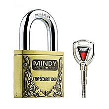 Padlock 50mm Mindy padlock - Goldish Brown