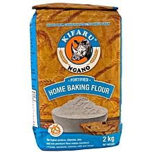 Kifaru Fortified Home Baking Flour 2 KG net Weight