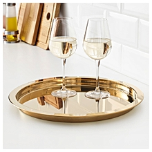 Tray - Brass colour