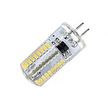 G4 64 Leds 3014 SMD Crystal Bulb Energy Saving LED Corn Light Warm White