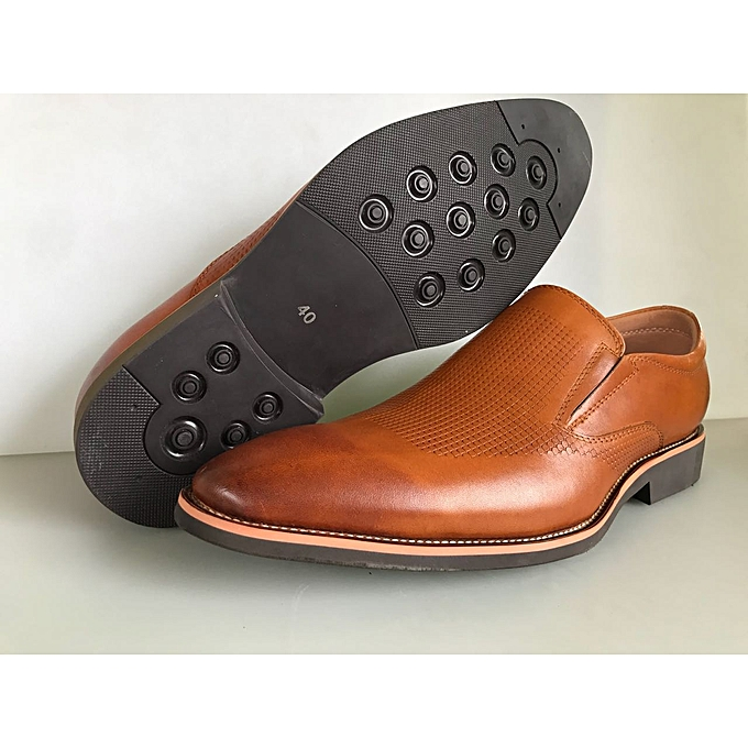Buy Generic Brown Quality And Genuine Leather Urban Look Official