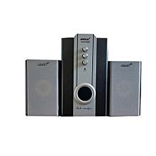 Sub Wooofer-Ampex AX575  2.1  CH-with USB/Radio/TF Card - Black