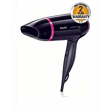 BHD002 Compact Essential Care Hairdryer - Dark Purple & Pink
