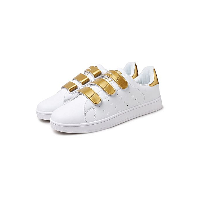 the best attitude 3431d 73152 2019 New Mens Stan Smith Style Board Shoes Fashion Sneaker Velcro Fasten