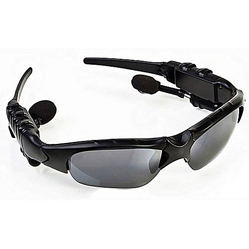 Generic EliveBuyIND® Sunglasses Mp3 Player Bluetooth phone FM Sunglass  sports headphones sun glass Headset 2e211ff3ab
