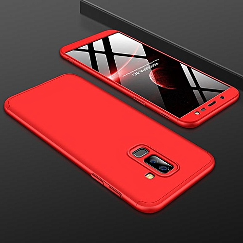 newest 353d1 7061a For Samsung J8 2018 360 Degree Protective Case Ultra Thin Hard Back Cover  Style:Samsung J8 2018 108226 c-4 (Color:Main Picture)