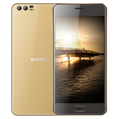 BLUBOO D2, 1GB+8GB, Dual Back Cameras, 5.2 inch Android 6.0 MTK6580A Quad Core up to 1.3GHz, Network: 3G, WiFi, GPS, Bluetooth, Dual SIM(Gold)