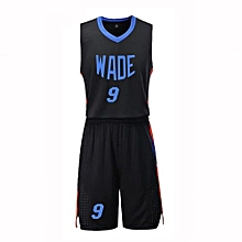 New Customized Students Men's Basketball Team Casual Sport Jersey-Black(JL-823)