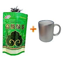 Chinese Green Tea Heathy Tea Leaves 100g, Get One Free Mug Cup