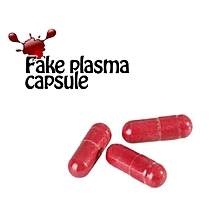 Halloween Fake Blood Plasma Red Blood Pill Cosplay Party Horror Trick Toys red