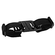 PULUZ Adjustable Helmet Strap Mount for Gopro SJCAM Eken Xiaomi Yi