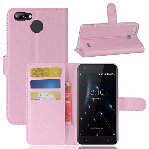 PU Leather Wallet Case Cover for Blackview A7 Pro