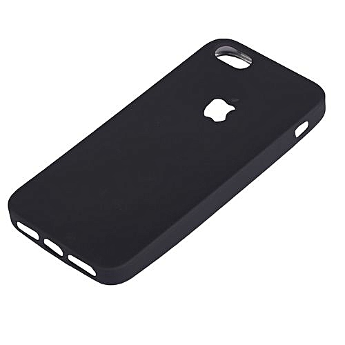 purchase cheap 09fbe efd9c Iphone 6 Rubber Case Cover - Black
