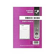 Duplicate Order Book A5 - Ref:522