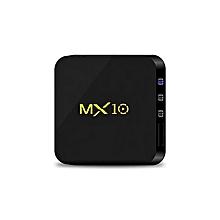 MX10 Android TV BOX Android 8.1 RK3328 Quad Core 4G RAM 32G ROM 4K HDR H265 KODI 18.0 USB 3.0 Media Player TV Set-top BOX