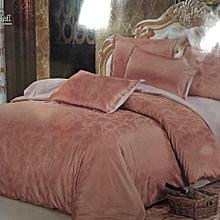 4PC Silk Duvet Cover 6x6 - Brown