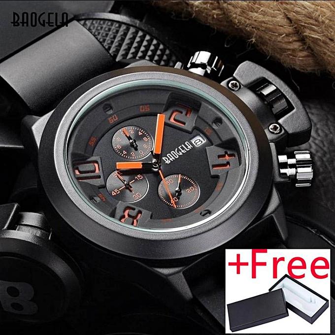 Megir Fashion Quartz Watch Jam Tangan Man Luminous Silicone Watch Jam  Tangan es Men Hot New fe540b5c32
