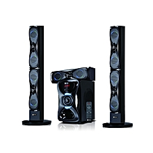 SHT-1204BT - Sub-woofer System -Tallboy – Black