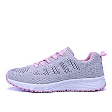 New Fashion Women's Lace Up Sneakers Couple Shoes