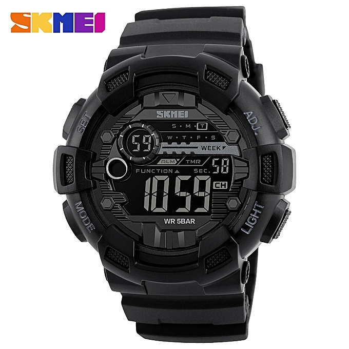 3a2ef4cc38d1 Top Luxury Brand Watch Men s Sports Watch Fashion Digital Watches Gift For  Male SKM1243