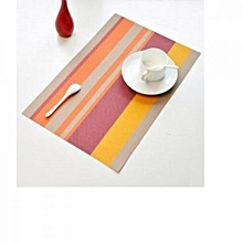 Table Mat - 45cm x 32cm - 6Pcs - Multicoloured
