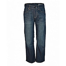 Blue Denim Boys Straight Fit Pants