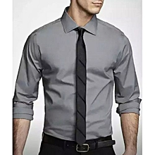 Men's Official Shirts, (100% Cotton) - grey