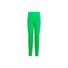 Green Basic Full Length Leggings