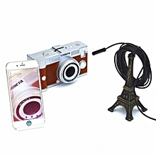 WIFI 1M Borescope Inspection Endoscope Snake Camera For IPhone IOS Android