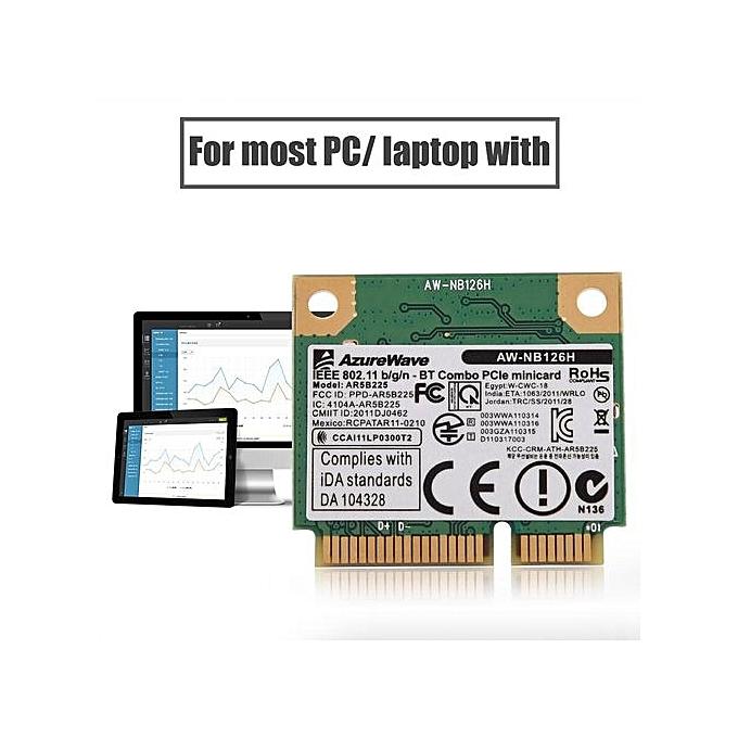 WIFI Card 2 4G Bluetooth WIFI 2 In 1 Wireless Card For Mini PCI-E Card Slot