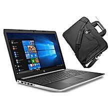 """HP 15  i5- 15.6"""" - 7th Gen. - 2TB HDD- 8GB RAM - Windows 10  - Silver +  Carry Case Bag"""